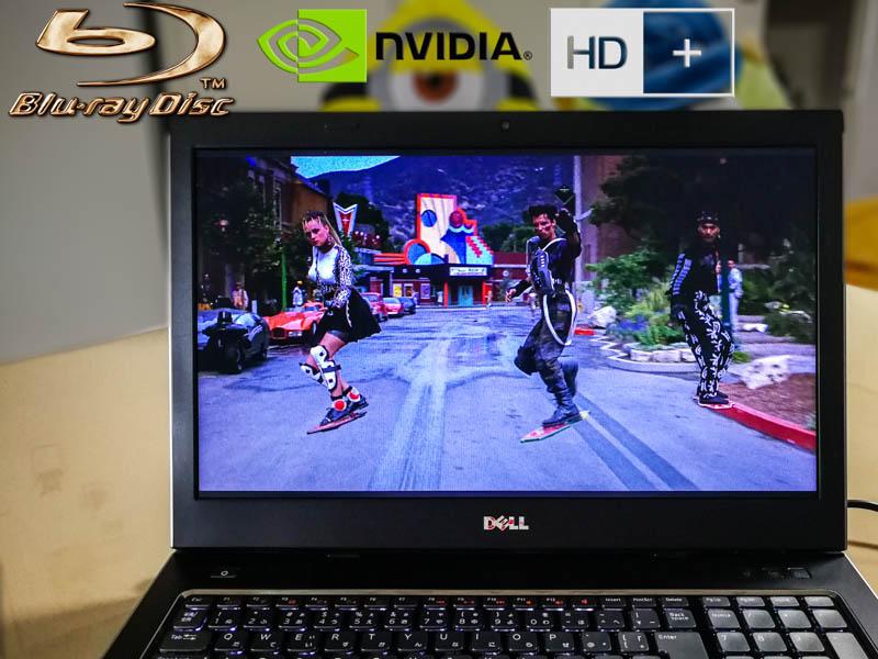 Dell Vostro 3750 HD+ Blu-Ray Special Core i7-2630QM 4GB HDD/320GB Blu-Ray/BDXL  17.3/1600×900 GeForce  Battery/47% Keyboard Light
