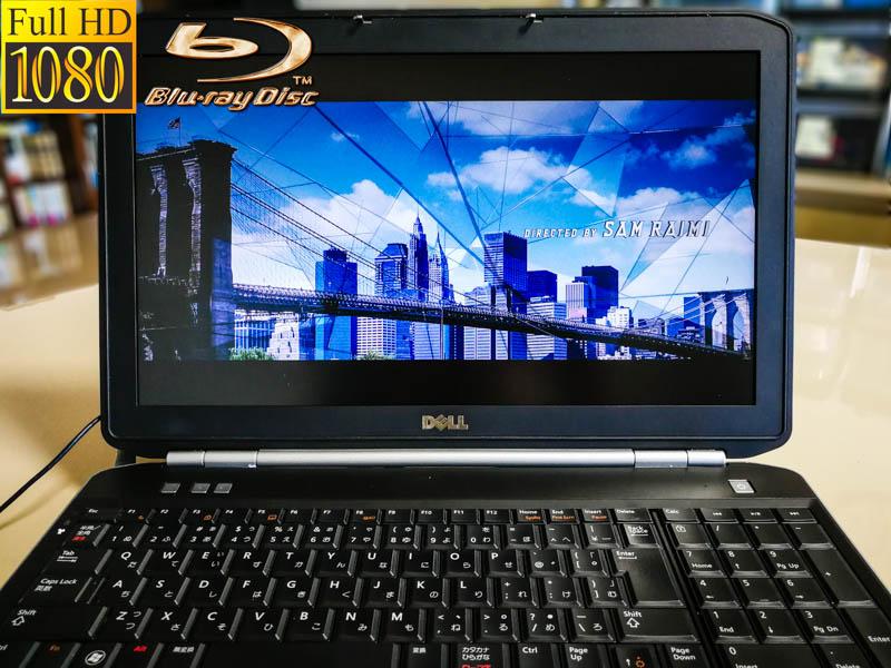 Dell Latitude E5520  fHD Blu-Ray Special Core i5-2540M 4GB  HDD/250GB  Blu-Ray/BDXL 15.6/1920×1080   BatteryHealth/68% Win10