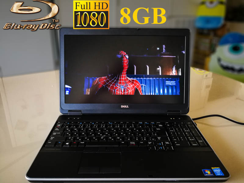 Dell Latitude E6540 fHD Blu-ray Special  Core i7-4800MQ 8GB  HDD/500GB Blu-Ray/BDXL 15.6/1920×1080   Radeon HD8790M  Win10