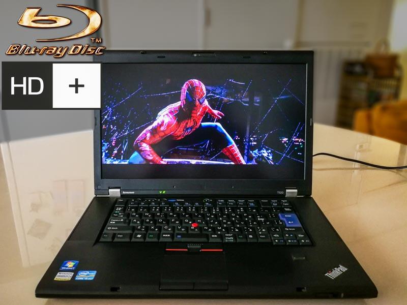 Lenovo ThinkPad T520 HD+ Blu-ray Special Core i5-2520M 4GB HDD/320GB Blu-ray/Multi  15.6 1600×900 Keyboard Light New Keyboard