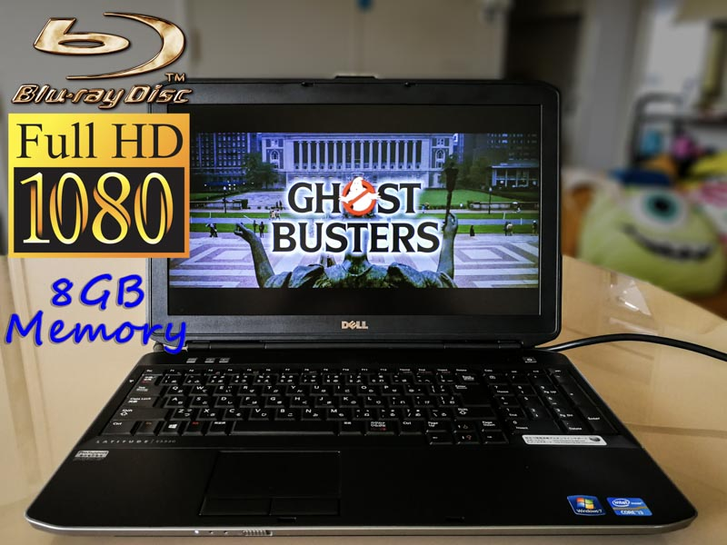 Dell Latitude E5530  (fHD Blu-ray Special) i3 8GB 500GB(HDD) Blu-ray(Multi) 15.6(1920×1080) BatteryTime(3h32m)  Win10
