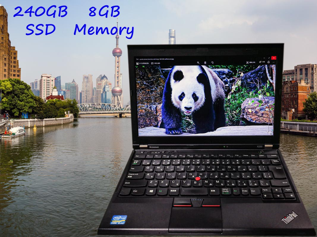 Lenovo ThinkPad X230 (新品SSD) i5  8GB SSD(240GB)  12.5(1366×768)  BatteryTime(5h49m)  Keyboard Light  Win10
