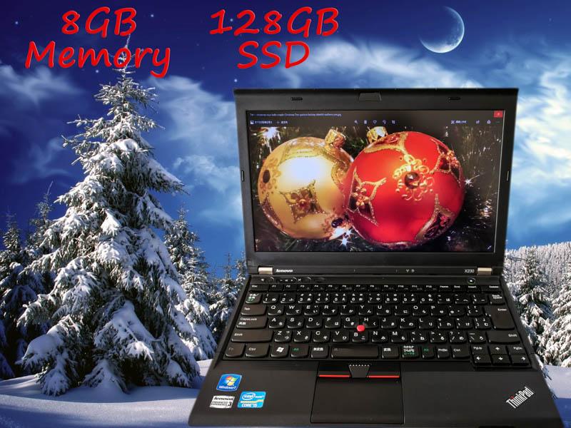 Lenovo ThinkPad X230 (サムスンSSD) i5  8GB SSD(128GB)  12.5(1366×768)  BatteryTime(5h24m)   Win10 オプション(大容量SSD,バックアップ作成セット)