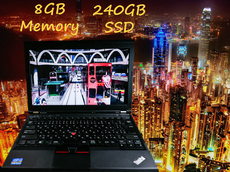 Lenovo ThinkPad X230 i5 8GB (プチ難あり) SSD(240GB)  12.5(1366×768)  BatteryTime(6h57m)  Keyboard Light マイクロマウス  Win10