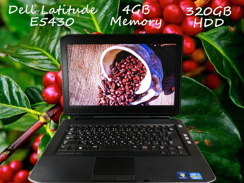 Dell Latitude E5430 i5 4GB HDD(320GB)  14.0(1366×768)  BatteryTime(3h43m)  Win10