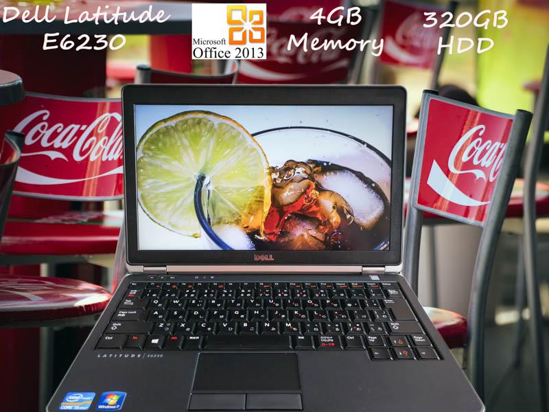 Dell Latitude E6230 i5 4GB HDD(320GB)  12.5(1366×768)  BatteryTime(10h2m) Win10 Office Pro  Plus 2013